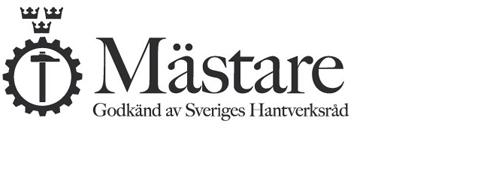 Mästare - Godkänd av Sveriges Hantverksråd