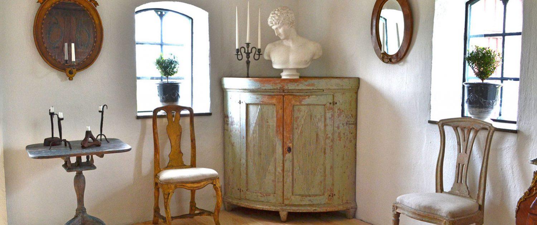 Swedish Antiques. Rococo, Gustavian And Empire Furniture.
